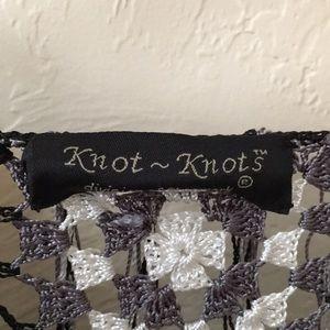 Knot Knot Tops - Knot knot crochet jacket